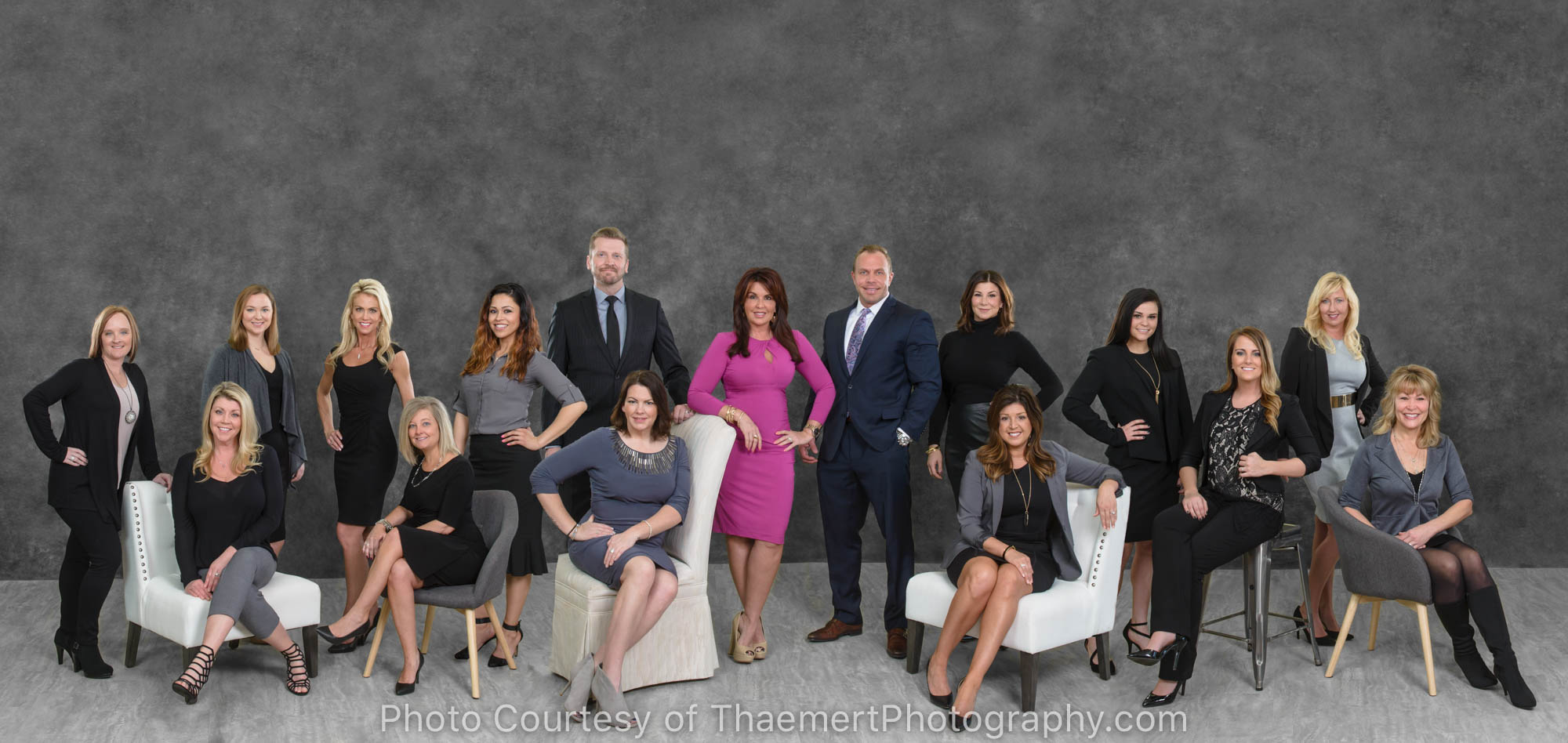 Large Real Estate Team Group Photo