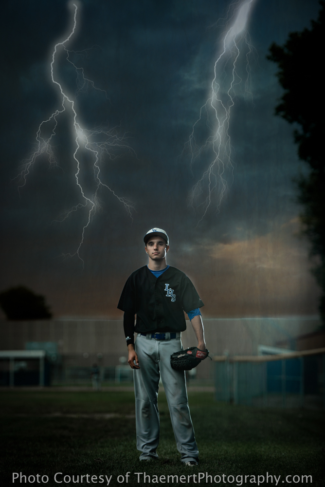 Amazing Senior Baseball Picture