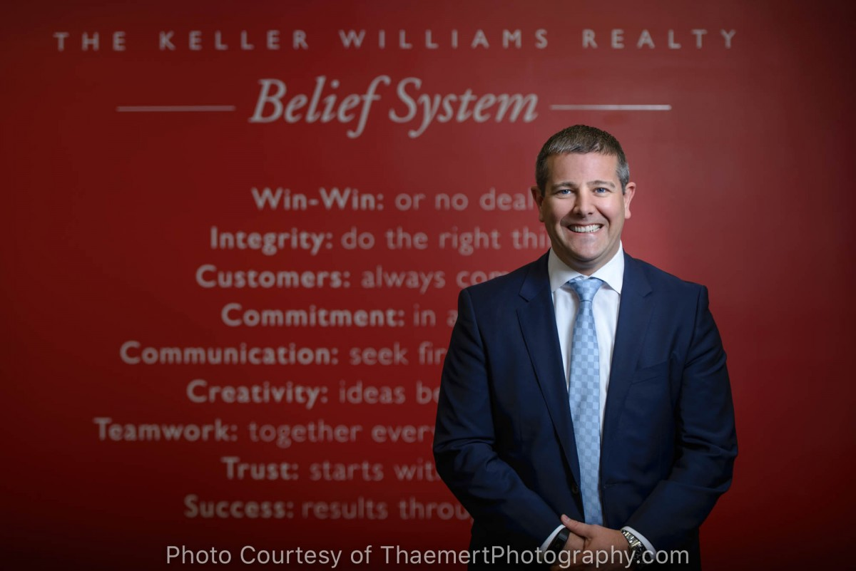 Keller Williams Real Estate Agent Portrait