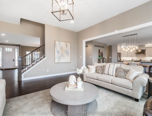 Beautiful Living Room Professional Real Estate Photographer