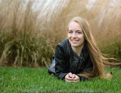 Fall photo shoot in Newtown – Senior Girl