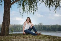 Beautiful Scenic senior pictures St Charles Waterfront