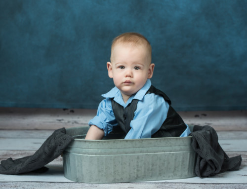 Photographing Sitting Babies! Cute little guy