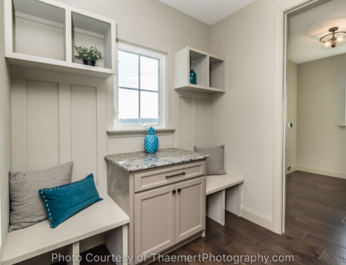 Mud Room and Laundry Real Estate Photography St Charles