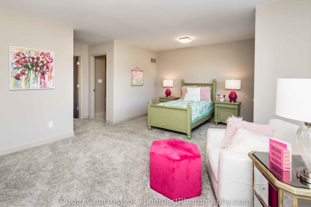 Girl Bedroom Real Estate Photography
