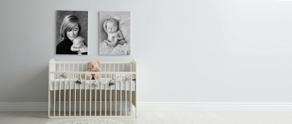St Charles Baby Photographer Crib and Portraits Bedroom